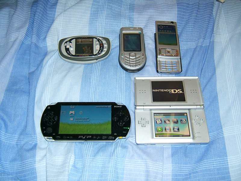 My phones and handhelds