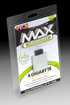 Datel Max Memory 4gb
