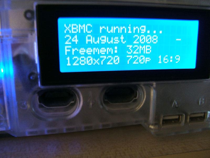 Xbox LCD Mod
