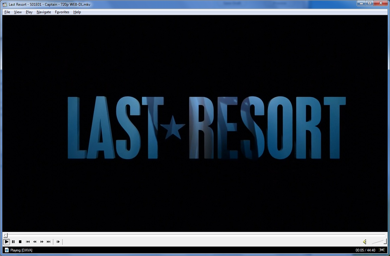 Last Resort Tv Show no Region Restrictions