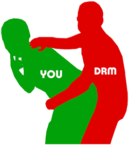 DRM only hurts the consumer