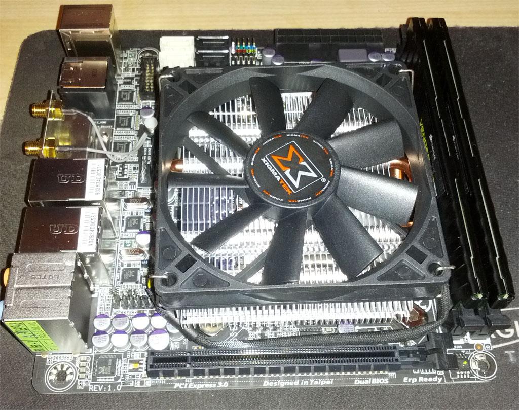 Gigabyte GA-Z77N-WIFI Motherboard - VM Ware ESXI Low Power Server Build