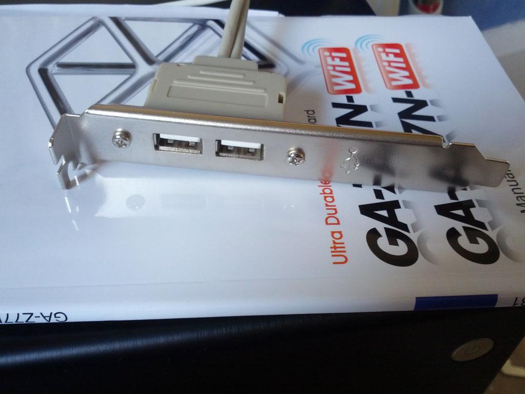 Internal USB Port - VM Ware ESXI Low Power Server Build