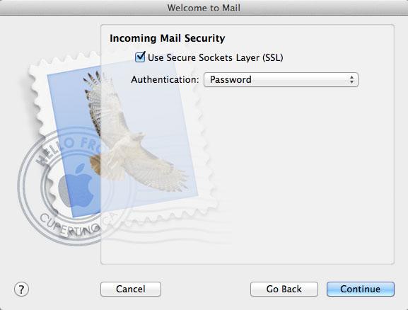 Hotmail / Outlook IMAP setup on OSX