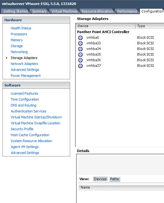 Rocket 720sgl VMware ESXi