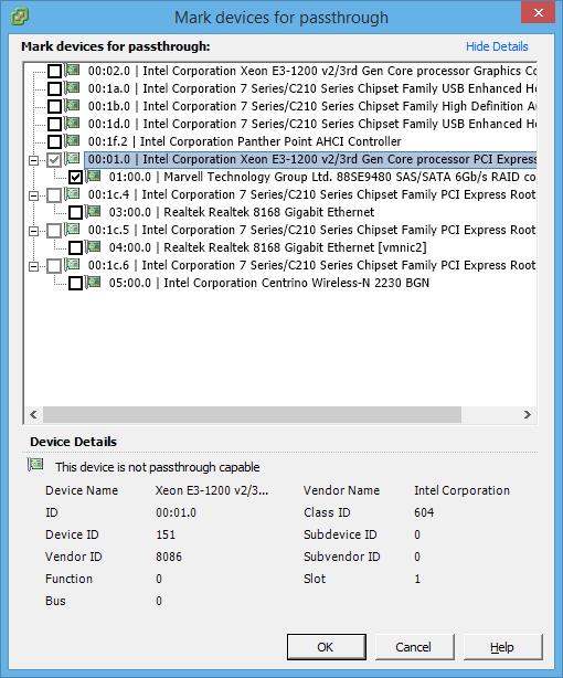 Highpoint Rocket 2720SGL VMware ESXi Passthrough