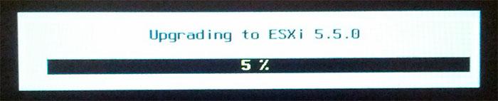 Vmware ESXi Upgrade Process