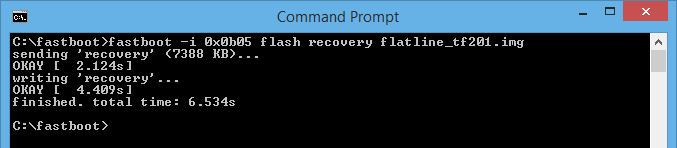 Asus Transformer Prime TF201 Flatline Recovery Flash