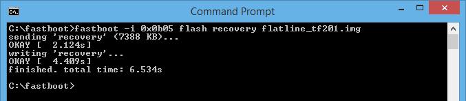 Asus Transformer Prime TF201 Flatline Recovery Flash